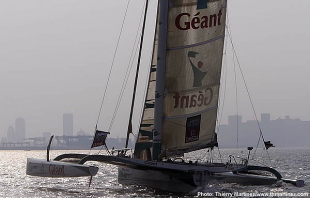 Geant powers towards the Boston finish line