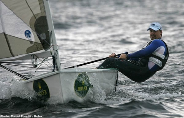 Canada's Christopher Cook took the Finn class