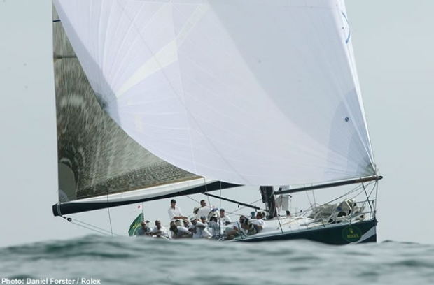 Numbers, a Farr 60, leads IMS