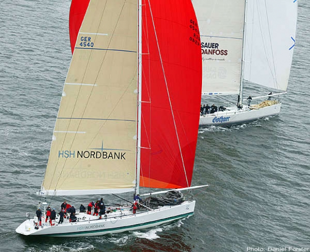 HSH Nordbank and UCA at the start on Saturday
