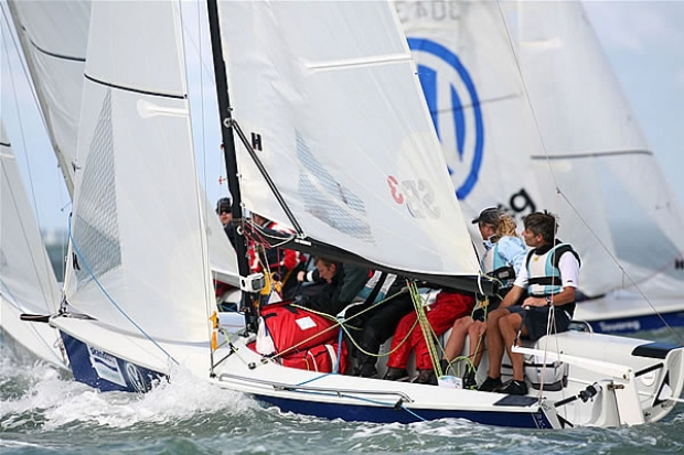 SB3 Class winner at Cowes last year - Russell Peters