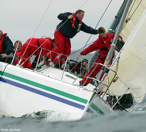 Babbalaas finished second in the hotly contested IRM Class at Cork Week 2004