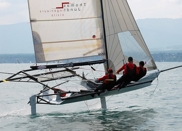 Thomas Jundt updates us on his foiling 18ft Skiff | The ...