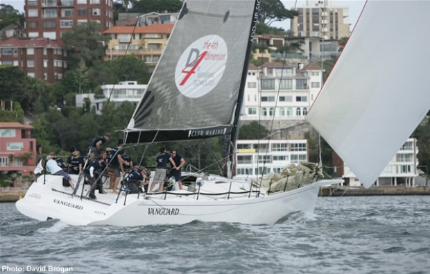 Cawse's Vanguard, skippered by Amanda Wilmot, Winner Spinnaker Division 1, Closing Ladies Day, Audi Winter Series 2009