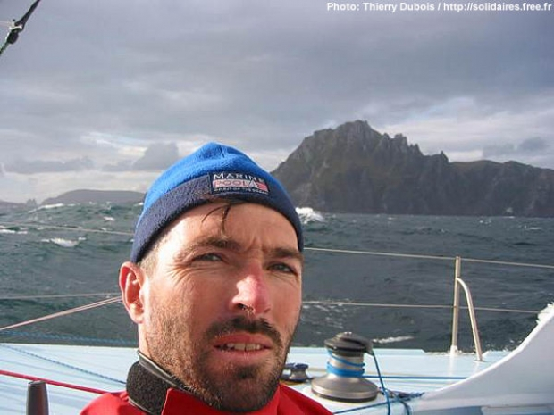 Self Potrait, Thierry Dubois rounds Cape Horn, Sunday 22.00 hrs GMT
