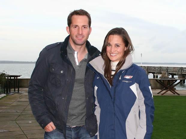 Pippa Middleton goes sailing