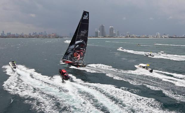 39083841d402 Volvo Ocean Race leg six victory to Puma