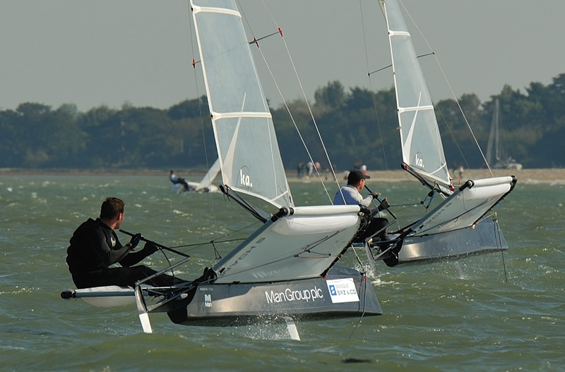 B14s and Moths at the Tide Ride | The Daily Sail