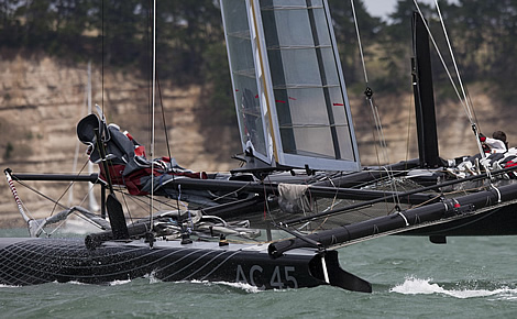 Dirk Kramers AC45 interview | The Daily Sail