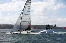 More action at the JJ Giltinan Trophy. Photo © Christophe Launay www.sealaunay.com