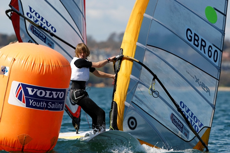 Sam Sills - RYA Volvo Youth National Championships. Photo Paul Wyeth/RYA