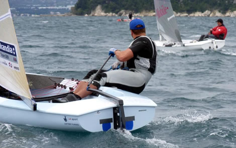 Finn European Championship Photo Robert Deaves