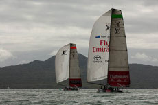 Louis Vuitton Trophy Auckland. Photo © Chris Cameron/Emirates Team NZ