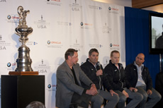 America's Cup goes to San Fran. Photo © Gilles Martin-Raget/BMW Oracle Racing