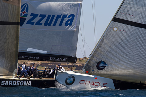 Louis Vuitton Trophy La Maddalena. Photo Stefano Gattini/Azzurra