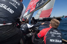 Louis Vuitton Trophy La Maddalena. Photo Chris Cameron/Emirates Team NZ