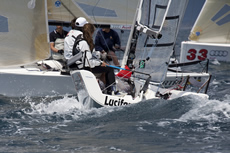 Audi Melges 20s in Scarlino. Photo Luca Buttò/Bplan