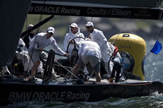 Gilles Martin-Raget/BMW Oracle Racing