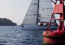 Rolex China Sea Race. Photo Daniel Forster/Rolex