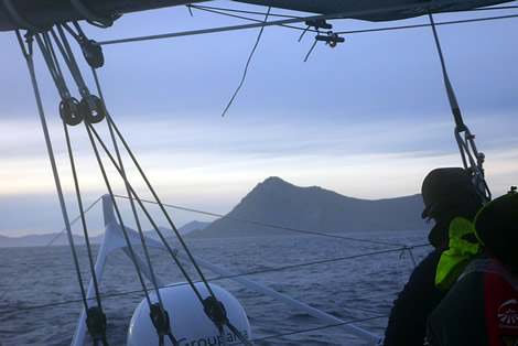 Groupama 3 at Cape Horn