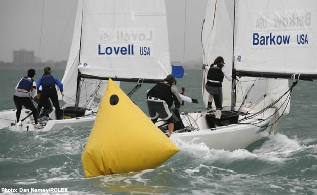 Women's match racing at the Rolex Miami OCR