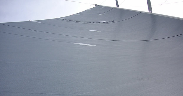 3Di mainsail on RP78 All Smoke