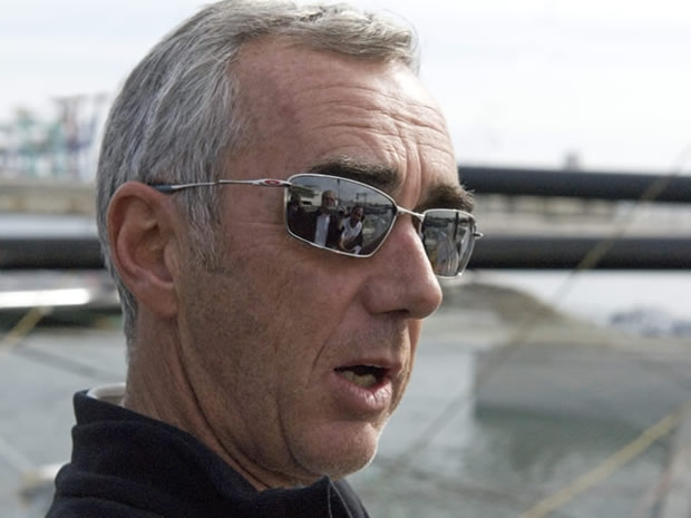 Loick Peyron, co-helmsman of Alinghi 5