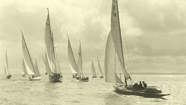 Start of the first ever Deauville Race