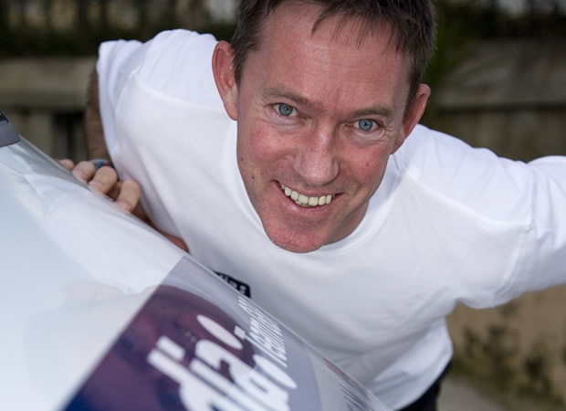 RYA Olympic Manager, Stephen Park,