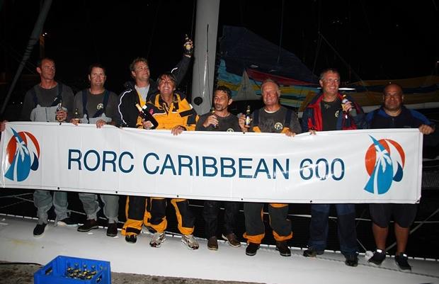 Region Guadeloupe crew celebrate