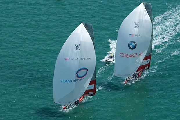 TeamOrigin v BMW Oracle Racing