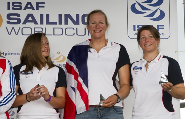 From right to left: Lucy Macgregor, Annie Lush and Kate Macgregor