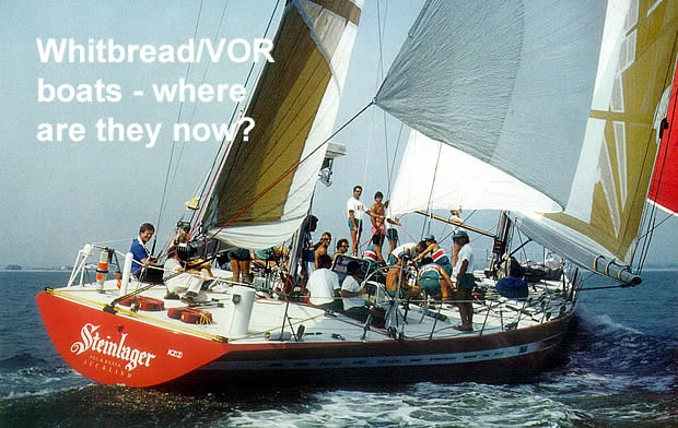 Whitbread/Volvo boats - where are they now | The Daily Sail