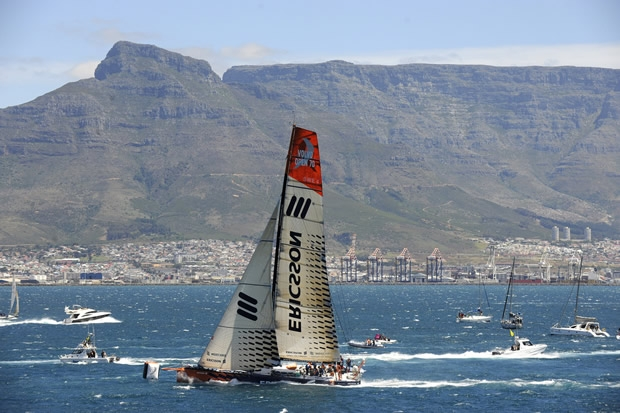 Ericsson 4 reaches Cape Town