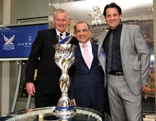 Peter Gilmour President WMRT, Patrick Lim Executive Chairman WMRT and Eric Deardorff Garrard CEO