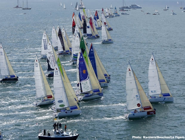 2009 Solitaire du Figaro start