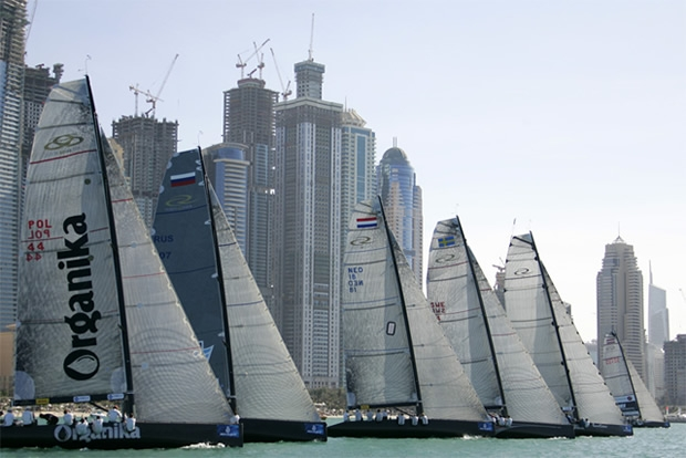 RC44 fleet in Dubai