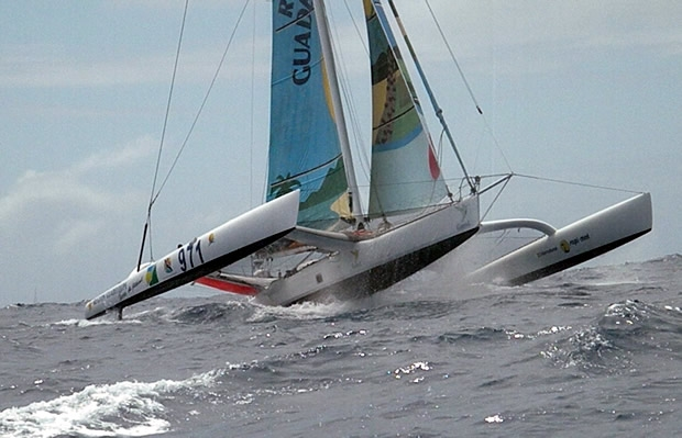 Region Guadeloupe - line honours favourite