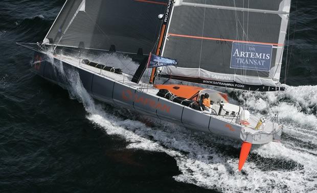 Marc Guillemot's IMOCA 60 Safran