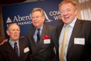 From left to right:Stuart Quarrie, Cowes Week's John Grandy and Aberdeen Asset Management CEO, Martin Gilbert