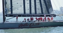 Wild Oats XI crosses the finish line