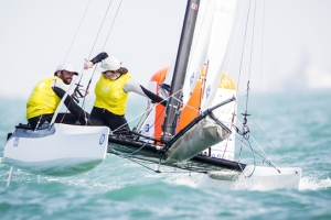 ISAF Sailing World Cup Final 2014 day 2 report