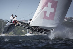 Extreme Sailing Series Sydney 2014 day 4 report