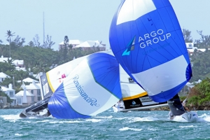 World Match Racing Tour ARGO Group Gold Cup 2015 day 1 report