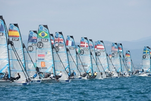ISAF Sailing World Cup Hyeres 2015 day 4 report