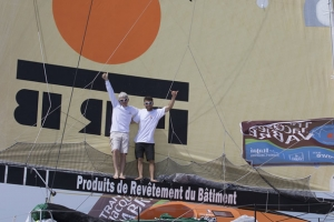 Transat Jacques Vabre 2015 IMOCA and Multi50 winners decided