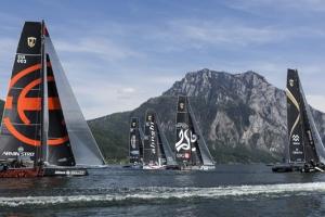 Bullitt GC32 Racing Tour Austria Cup day 1 report