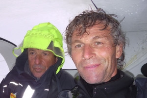 Cheminees Poujoulat rounds Cape Horn in the Barcelona World Race