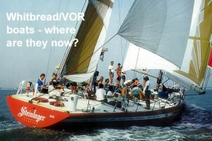 Whitbread/Volvo boats - where are they now