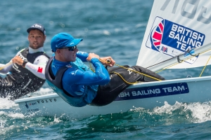 Nick THompson claims second Laser World title
